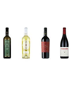 031.爽やかなフルーツが香る赤・白ワイン4本セット