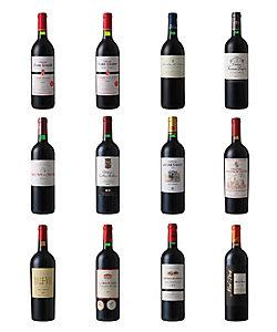 047.ボルドー地方高品質赤ワイン12本セット
