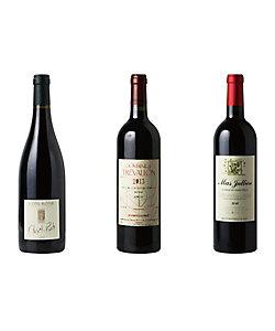 050.カリスマ生産者が手掛ける高品質赤ワイン3本セット