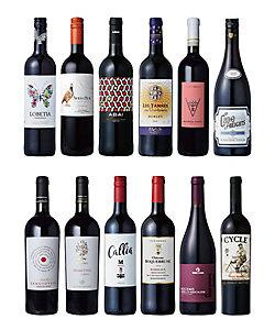 065.単一品種赤ワイン飲みくらべ12本セット
