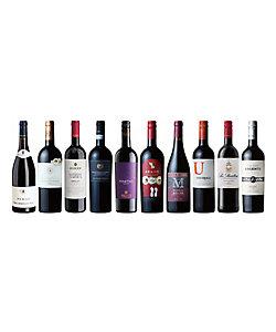 069.世界を旅する赤ワインバラエティ10本セット