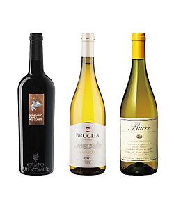 072.イタリア堪能白ワイン3本セット