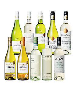 世界の品種を満喫する白ワイン10本セット 08204