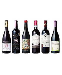 イタリア縦断コク旨赤ワイン飲みくらべ6本セット   08212