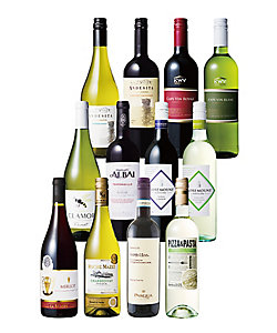 世界のバラエティーアソート 赤・白ワイン12本セット 08214