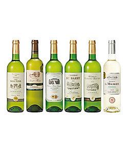 フランス・ボルドー地方「金賞受賞」白ワイン6本セット 08216