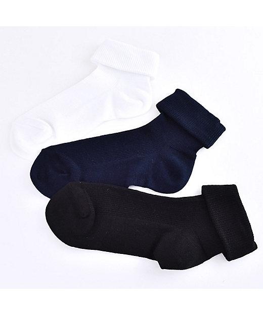三 つ折り 靴下