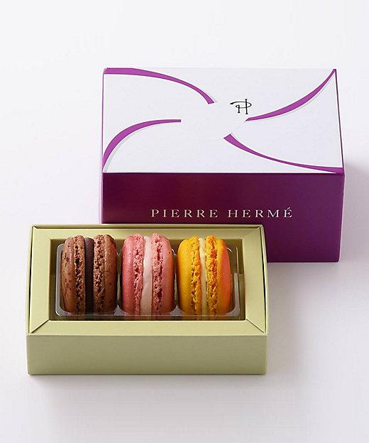 <PIERRE HERME PARIS/ピエール・エルメ・パリ> マカロン 3個セット(洋菓子)【三越伊勢丹/公式】