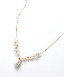 add a pearl(Women)/アド ア パール パールチェーンネックレス(ANC-FWD8FD)