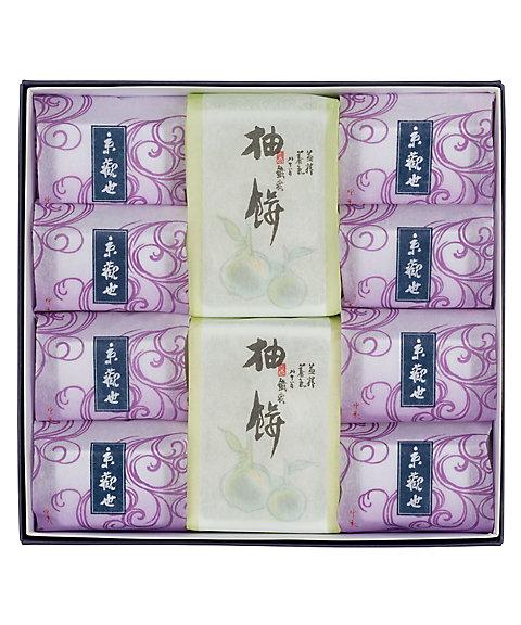 <鶴屋吉信/ツルヤヨシノブ> 京観世・柚餅詰合せ【10個入】(和菓子)【三越・伊勢丹/公式】