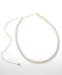 add a pearl(Women)/アド ア パール パールネックレス(ANS-FW6YG18L39)