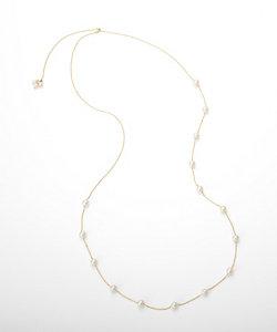 add a pearl(Women)/アド ア パール パールチェーンネックレス(ANS-FW4SDYG18L70)