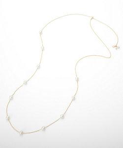add a pearl(Women)/アド ア パール パールチェーンネックレス(ANS-FW6SDYG18L70)