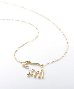 <Christel Vie Ensemble × R ethical jewelry>エレファントネックレス(CVEREJ02ELE)