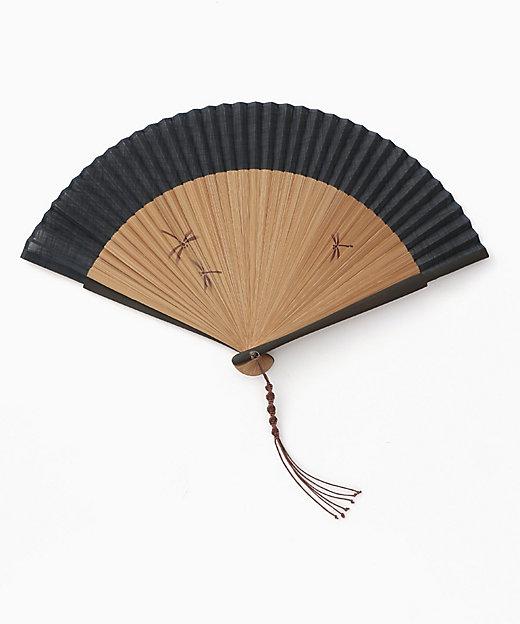 <保赤軒/ホセッケン> 紳士扇子 夏風とんぼ 紺 紺【三越伊勢丹/公式】