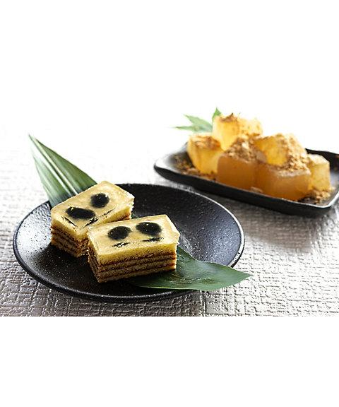 石川【まめや金澤萬久】わらび餅のバウム・黒豆(和菓子)【三越・伊勢丹/公式】