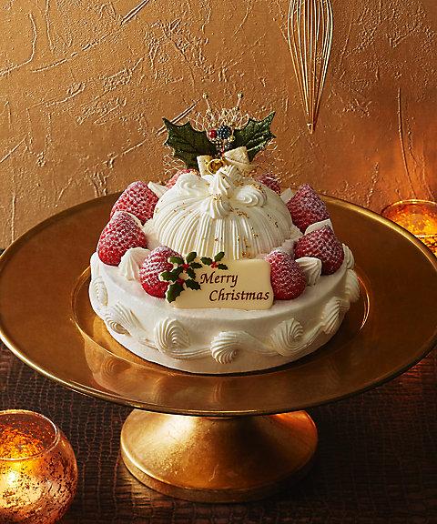 <東京會舘>苺のクリスマスマロンシャンテリー 【三越・伊勢丹/公式】