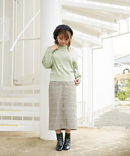 ボリューム袖ニット スモールサイズ