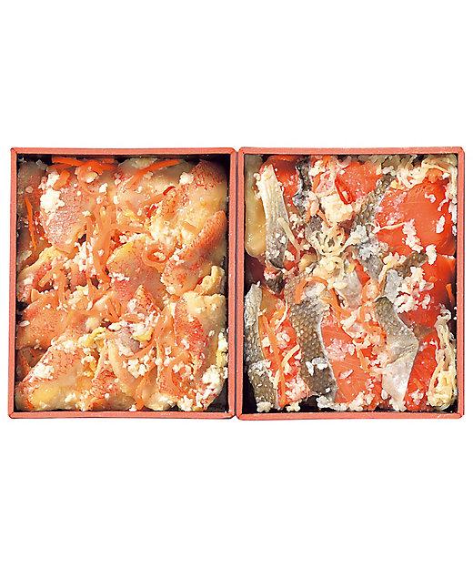 【お歳暮】【送料無料】<堀内水産> 小樽きんき・紅鮭飯寿司詰合せ【三越伊勢丹/公式】