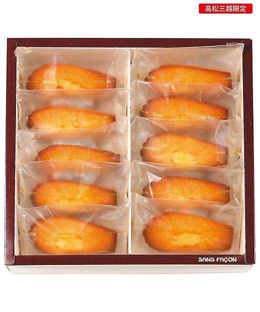【お歳暮】【送料無料】<サンファソン> 希少糖瀬戸内レモンマドレーヌ(10個)(和菓子)【三越伊勢丹/公式】