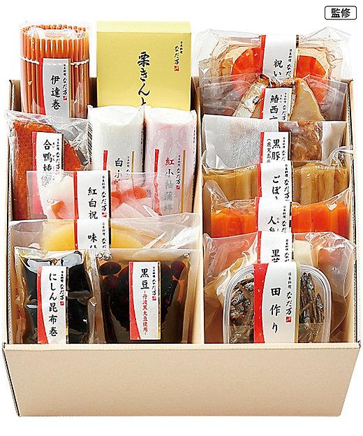【送料無料】<日本料理 なだ万> 単品おせち16品目セット「舞」【三越伊勢丹/公式】