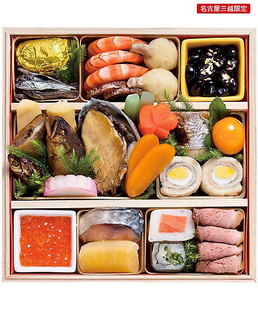 京料理 竹屋町 神座 和風一段・鯖寿司セット【三越伊勢丹/公式】