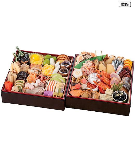 加賀 月うさぎの里 加賀兎郷 和洋風おせち料理二段【三越伊勢丹/公式】