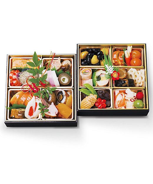 たつみ寿司 和風おせちお手軽二段重【三越伊勢丹/公式】