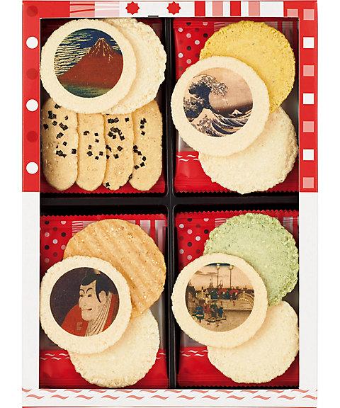 <志ま秀> 東京国立博物館 限定ギフトえびぱれ 12袋入(和菓子)【三越・伊勢丹/公式】