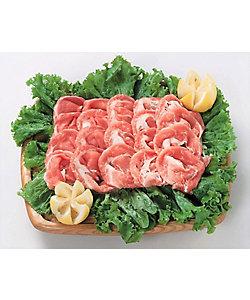I's MEAT SELECTION/アイズミートセレクション 静岡県産 掛川完熟酵母黒豚 モモしゃぶしゃぶ用