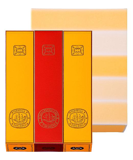 <福砂屋/フクサヤ> カステラ・オランダケーキ詰め合わせ 3本入 中3(和菓子)【三越伊勢丹/公式】