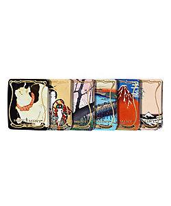 HINTMINT/ヒントミント 【銀座三越・菓遊庵限定】東京国立博物館コラボレーション 浮世絵クラシックコレクション vol.1 全6種セット