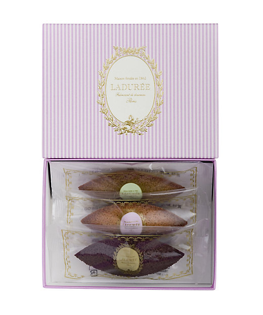 <LADUREE/ラデュレ> フィナンシェ 3個入り(洋菓子)【三越伊勢丹/公式】