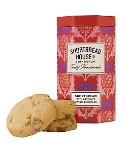 SHORTBREAD HOUSE OF EDINBURGH/ショートブレッドハウス オブ エディンバラ オクタゴナル缶ホワイトチョコレート&ヘーゼルナッツ