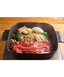 赤坂松葉屋/アカサカマツバヤ 松茸と飛騨牛すき焼きセット(ZEー100)