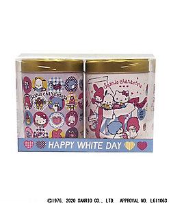 山本海苔店/ヤマモトノリテン 2021年サンリオキャラクターズ ホワイトデーデザイン のりチップス2缶詰合せ(ごま味・うめ味)