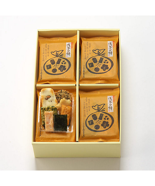 <王様堂本店/オウサマドウホンテン> 浅草七餅(和菓子)【三越伊勢丹/公式】