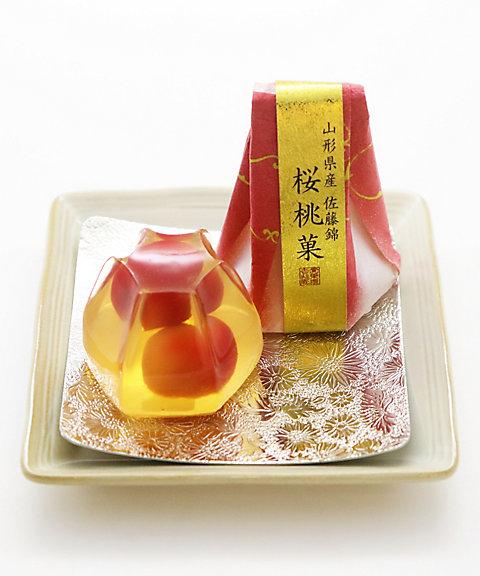 <賚果 源吉兆庵/ライカミナモトキッチョウアン> 桜桃菓(和菓子)【三越・伊勢丹/公式】