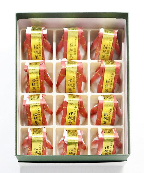<賚果 源吉兆庵/ライカミナモトキッチョウアン> 桜桃菓12入(和菓子)【三越・伊勢丹/公式】