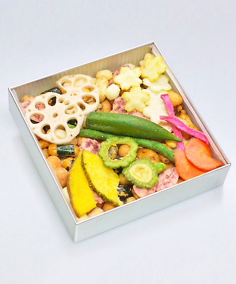 <tamayose> ふきよせ しょっぱい缶 伝統京都木版画帯(和菓子)【三越・伊勢丹/公式】