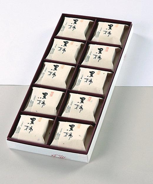 <京菓子處 鼓月/キョウガシドコロ コゲツ> 黒柿10個入(和菓子)【三越伊勢丹/公式】
