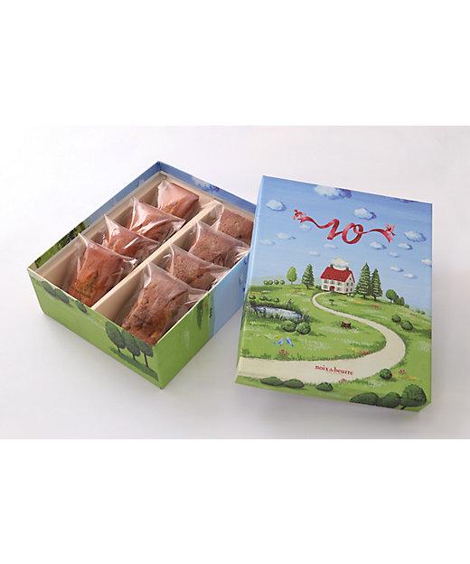 <noix de beurre/ノワ・ドゥ・ブール> アニバーサリー・フィナンシェ・アソルティ(洋菓子)【三越伊勢丹/公式】