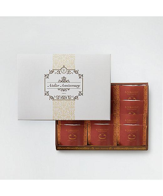 <L'OLIOLI 365 by Aniversary/ロリオリ365バイアニバーサリー> 丸ごと栗のパウンドケーキ 12個入り(洋菓子)【三越伊勢丹/公式】