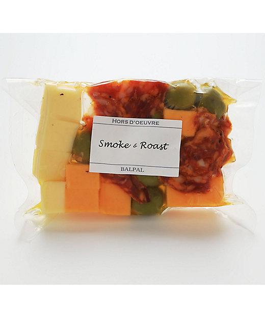 <燻製BALPAL PLUS/クンセイバルパル プラス> チーズ&オリーブ(サラミピカンテ)【三越伊勢丹/公式】