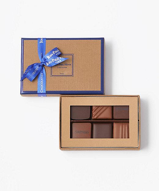 <JEAN-PAUL HEVIN/ジャン=ポール・エヴァン>【チョコレート】ボンボン ショコラ 6個(洋菓子)【三越伊勢丹/公式】