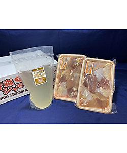 青森県(フード)/アオモリケン(フード) <大鰐振興>青森シャモロック 水炊きセット