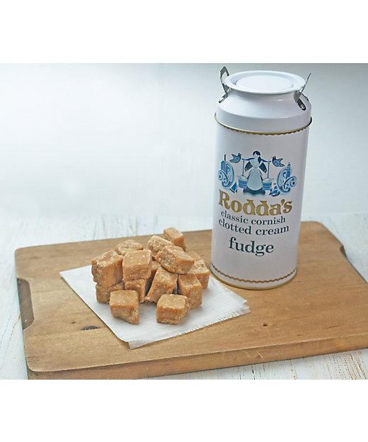 <Rodda's/ロダス>【クッキー】クロテッドクリームファッジ ミルク缶(洋菓子)【三越伊勢丹/公式】