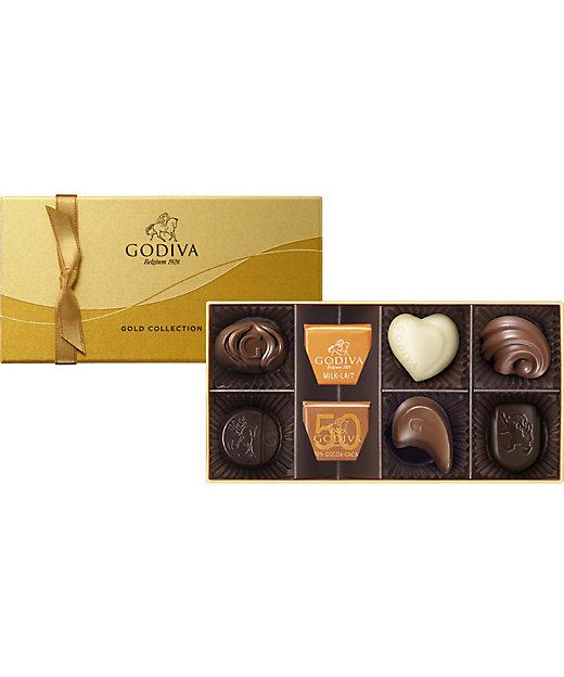 <GODIVA/ゴディバ>【チョコレート】ゴールド コレクション(8粒入)(G-20)(洋菓子)【三越伊勢丹/公式】