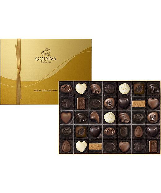<GODIVA/ゴディバ>【チョコレート】ゴールド コレクション(35粒入)(G-100)(洋菓子)【三越伊勢丹/公式】