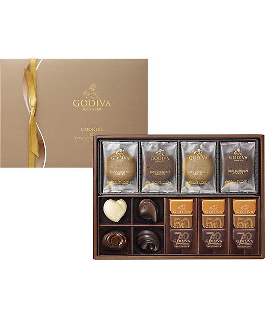 <GODIVA/ゴディバ>【クッキー】クッキー&チョコレート アソートメント(GCC-30)(洋菓子)【三越伊勢丹/公式】